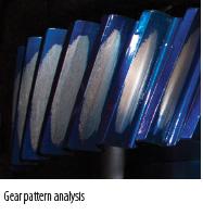 Gear pattern analysis