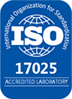 International Organization for Standardization Accredited Laboratory 17025 logo