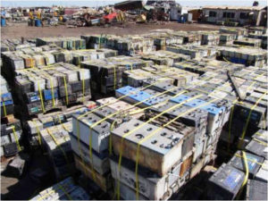 Lead acid batteries damage the environment