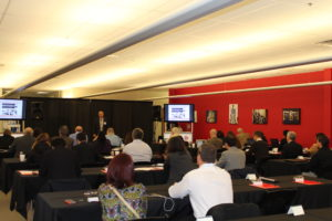 Rod Emery presents RedViking to the Siemens International Press Tour for the Automation in America Symposium