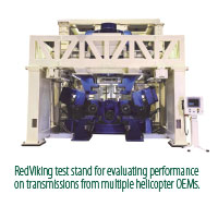 Helicopter transmission test stand