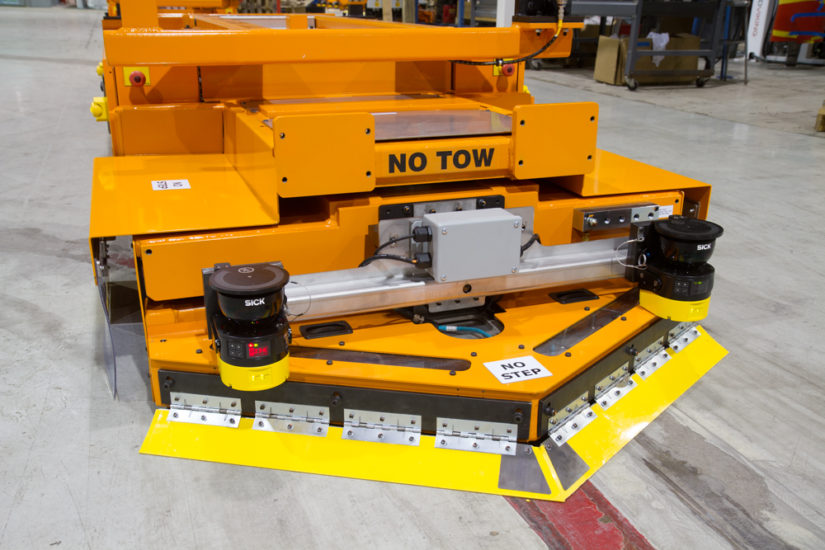 Battery-free AGVs for HIgh Production Automotive Assembly Lines